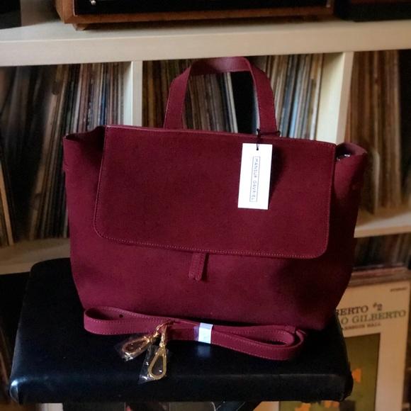 b0fad77dd312 Mansur Gavriel Bags   Lady Bag In Burgundy Leather   Poshmark
